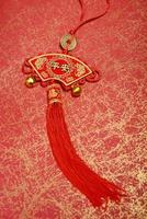 traditionele Chinese knoop foto