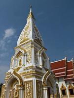 Phra die pagode prijst in Nakhon Phanom, Thailand foto