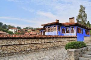 traditionele Bulgaarse architectuur foto