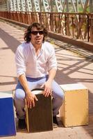 flamenco percussie foto