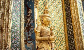 Thaise beeldhouwkunst foto