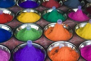kleuren voor make-up foto