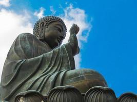 de grote boeddha foto