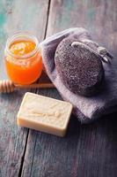 honing spa-instelling foto