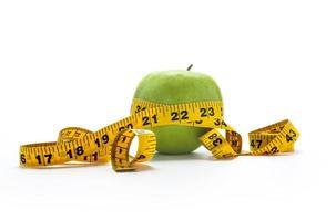 eet gezonde appel foto