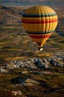 heteluchtballonnen over Cappadocië, Turkije foto