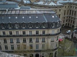 venster van Parijs foto