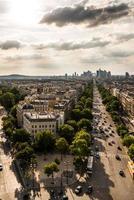 skyline Parijs foto