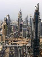 skyline van Dubai foto