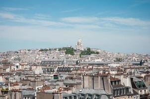 panorama van Parijs. foto