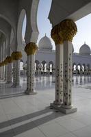 abu dhabi grote moskee foto