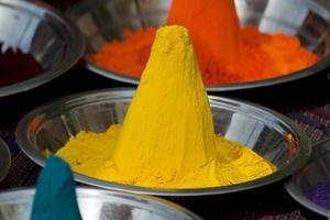 kleuren van India foto