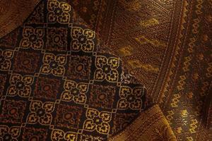 antiek Aziatisch textiel foto