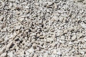 kalksteengroeve-industrie, zomer, Oekraïne foto