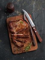 heerlijke biefstuk foto