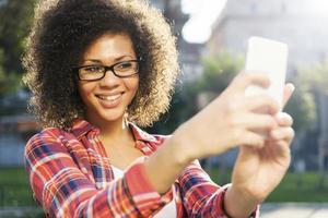 online chatten met een vriend foto