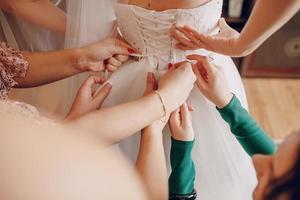trouwdag foto