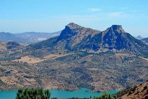 Andalusische bergen foto