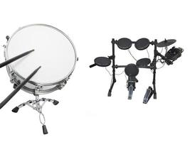 drums ingesteld