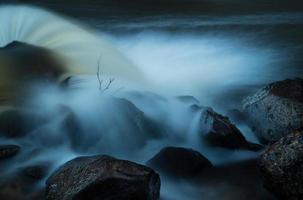 drijvend water foto