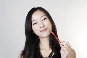 jonge Chinese vrouw foto