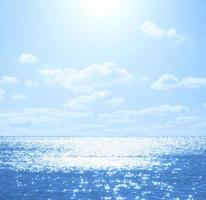 genieten van de zee / oceaan.