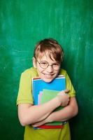 gelukkige jongen foto