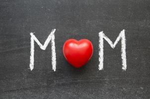 moeder woord foto