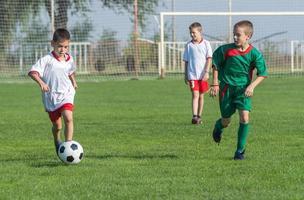 voetbal voor kinderen foto
