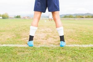 voetbal strafschop foto