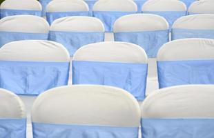 bruiloft stoelen foto