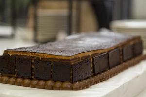 chocoladetaart, taart foto