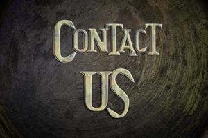contacteer ons concept foto