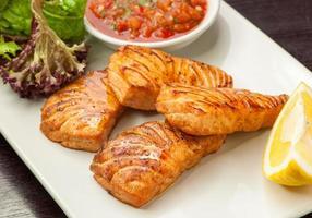 gebakken rode vis
