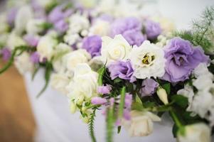 bruiloft decor bloemen foto