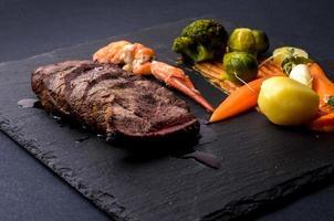 kalfsvlees met groenten foto
