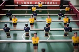 voetbaltafel foto