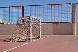 voetbaldoel foto