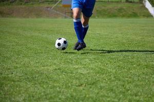 voetbalspeler foto