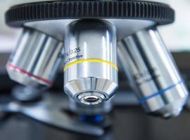 microscoop foto