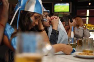 fans van Argentinië foto