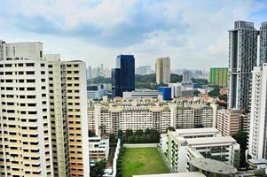 voetbalveld, singapore foto