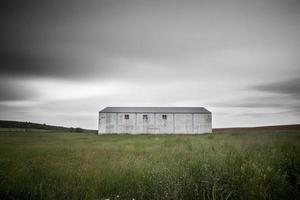 verlaten voetbalveld foto