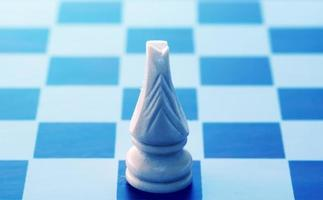 conceptueel schaakspel foto