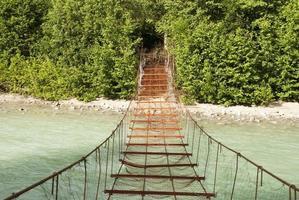 gevaarlijke brug foto