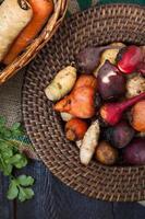 wortelgroenten foto