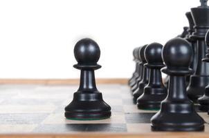 schaken figuur foto