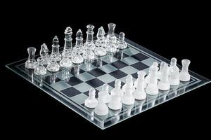 afbeelding van schaakbord foto