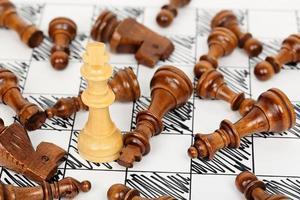 schaakmat foto