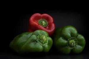 groene paprika foto